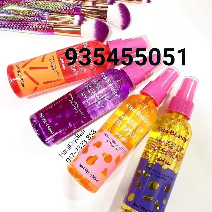 Супер фиксаторы для макияжа с защитой от солнца spf60+. Photo 0