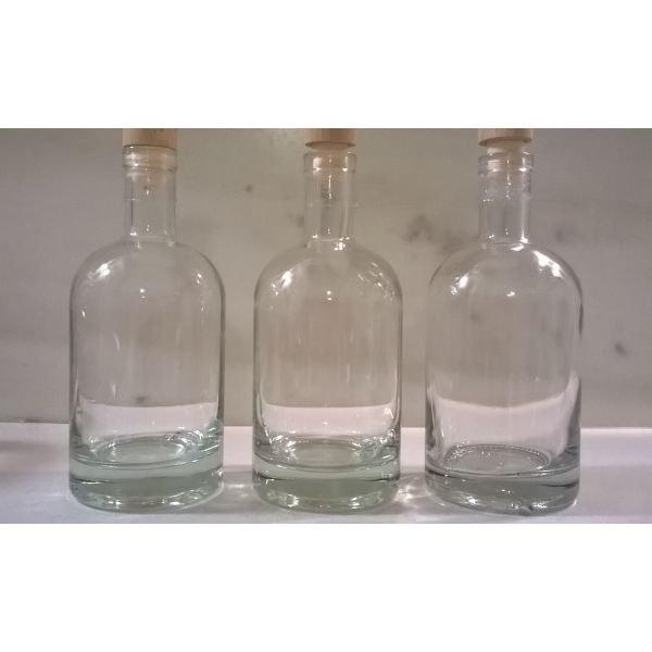 3 μπουκάλια με βαρύ πάτο 500 ml ( από λικέρ )