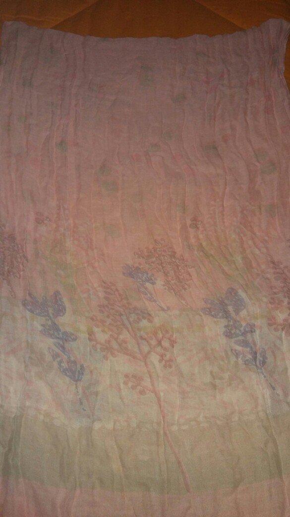 Πασμινα βαμβακερη φορεμενη μια φορα σε αριστη κατασταση. αποστολη με π. Photo 4