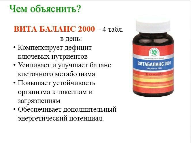 Витабаланс 2000. Photo 1