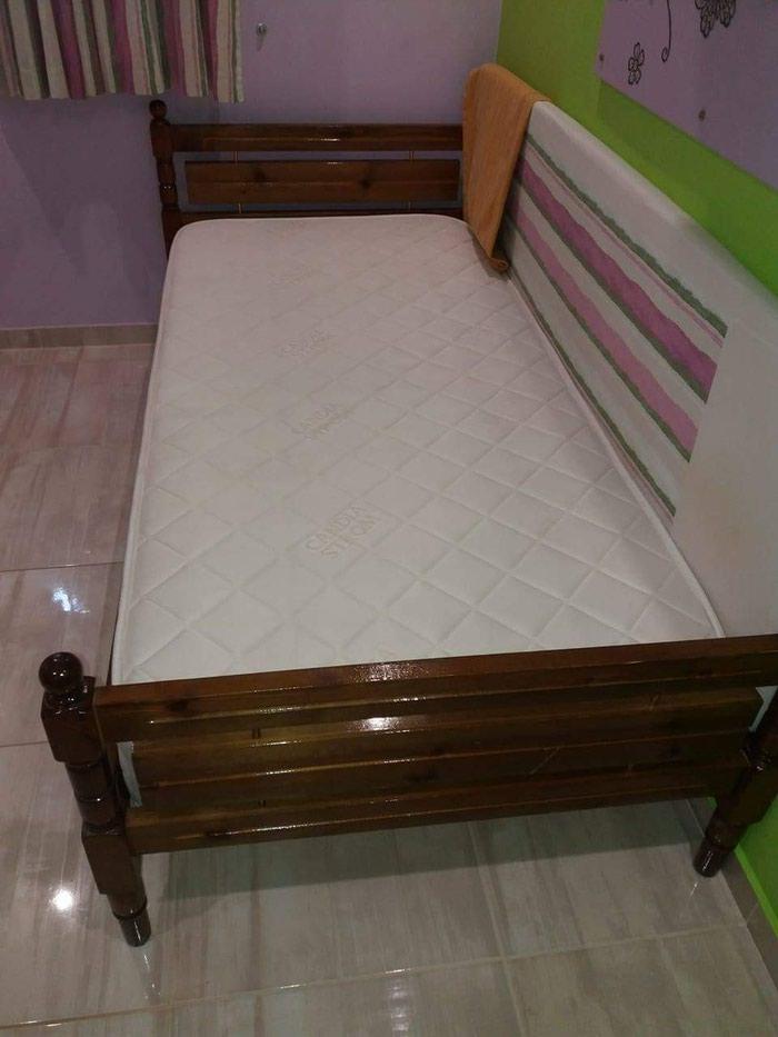 Κρεβάτι μόνο με στρώμα ανατομικό 90χ190. Photo 2