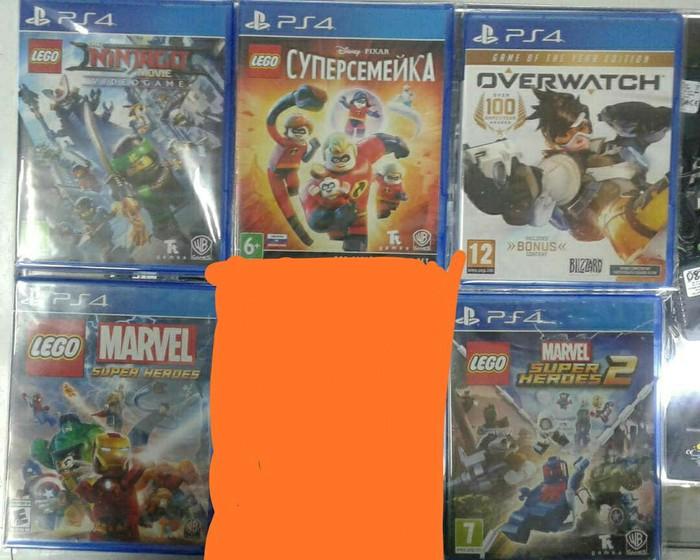 Продаю!!! Игры на PS4 в отличном состоянии. На русском языке!!!. Photo 0
