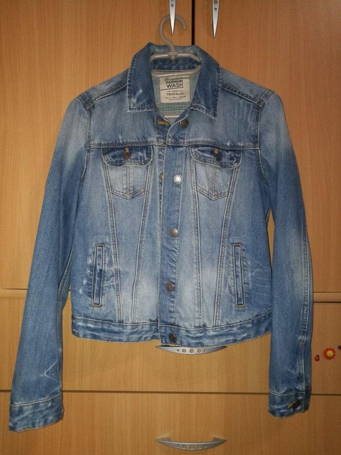 Zara, teksas jakna, tri puta nošena, veličina l - Novi Banovci