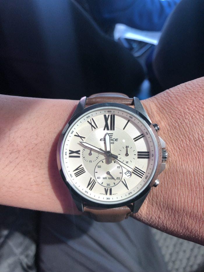 Мужские Серебряные Классические Наручные часы Casio. Photo 4