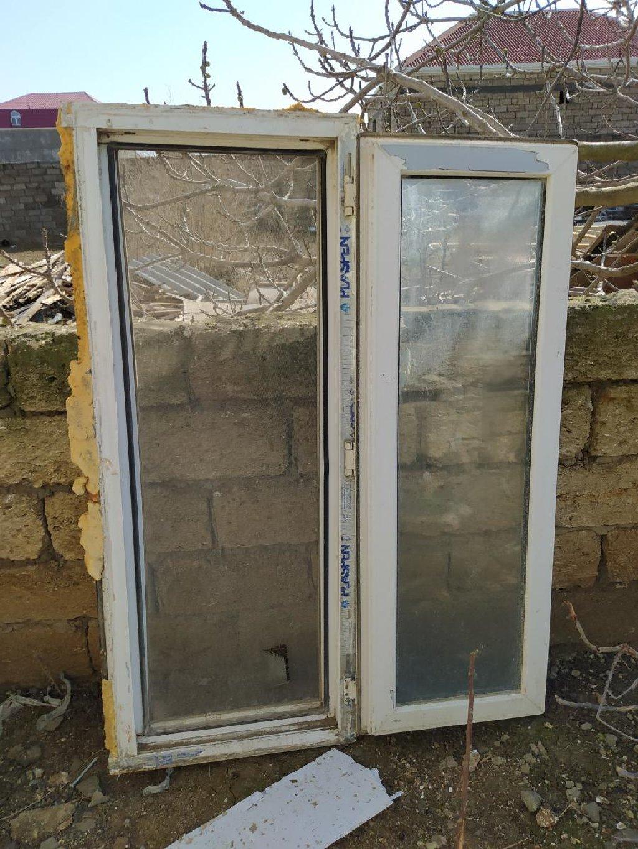 Satilir Bir plastik Pencere 60×160