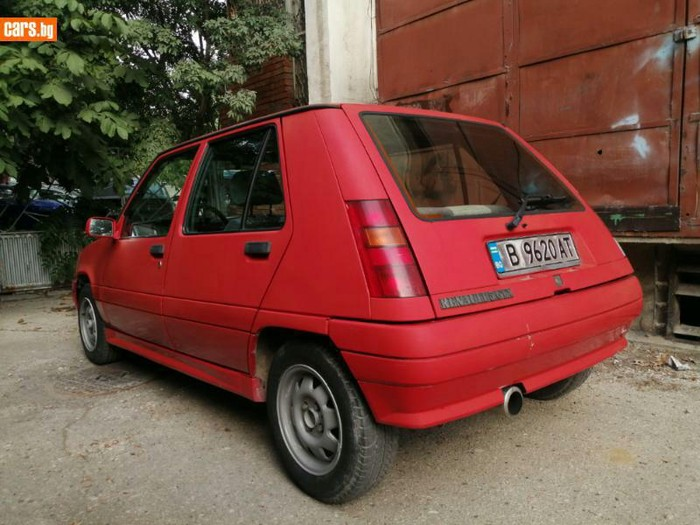 Renault 5 1989. Photo 3