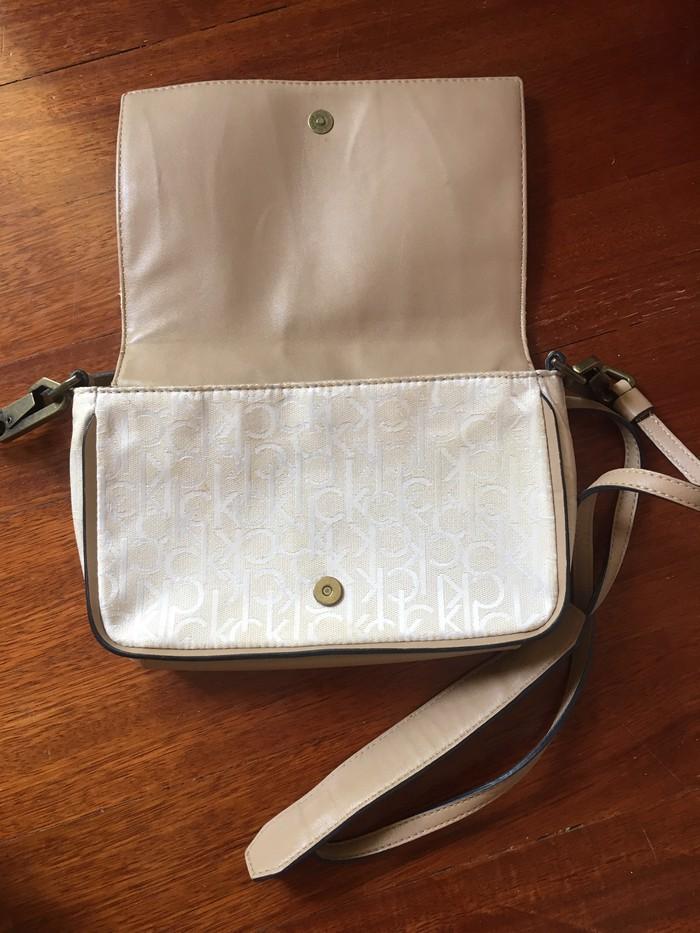 Τσάντα αυθεντική δερμάτινη Calvin Klein . Photo 2