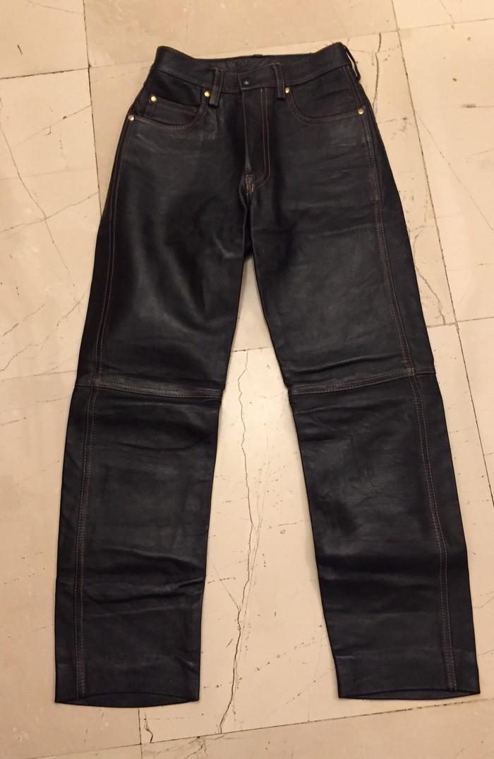 Δερματινο εξαιρετικής  ποιοτητας μαυρο παντελονι