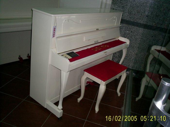 Bakı şəhərində Geyer Alman Piano satilir Fiqurlu Ayakli Lepkali Təzə ideal