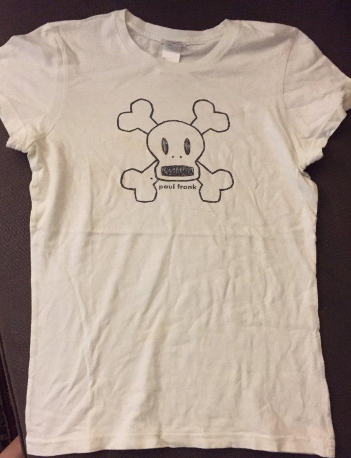 Λευκό βαμβακερό tshirt Paul Frank No small .  Τιμή 7€. Photo 0