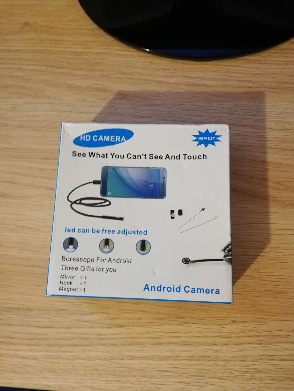 Ενδοσκοπική Camera android! Συνδέεται με το κινητό ή το ταμπλετ και μπορείς να δεις εκεί που δεν πιάνει το μάτι σου!ιδανικό για επαγγελματίες
