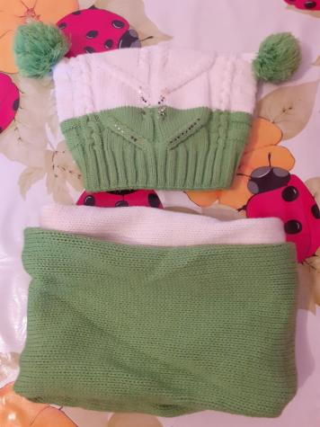 Шапочка и шарфик. До 4-6 лет: Шапочка и шарфик. До 4-6 лет