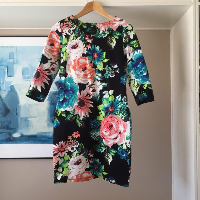 Ολοκαίνουργιο H&M μαύρο floral φόρεμα.. Photo 2