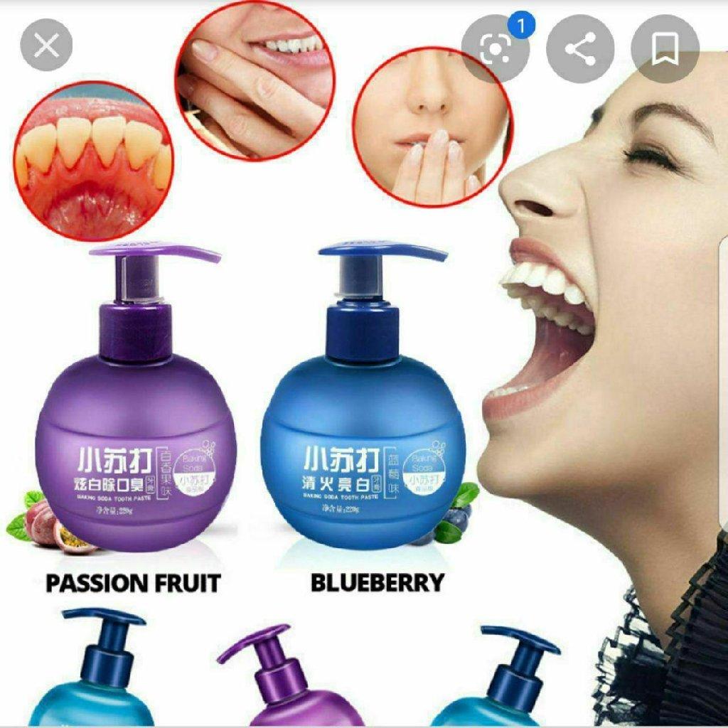 Зубной гель для чистки зубов