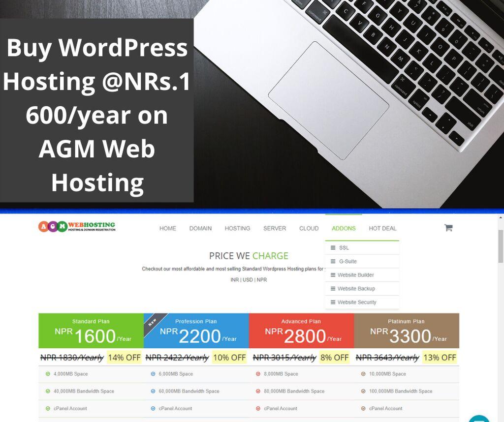 Buy WordPress Hosting@NRs