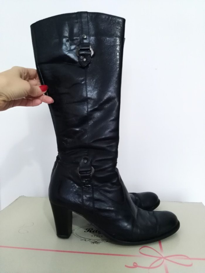 Čizme kožne, u dobrom stanju, izuzetno udobne, vel. 39. Photo 5