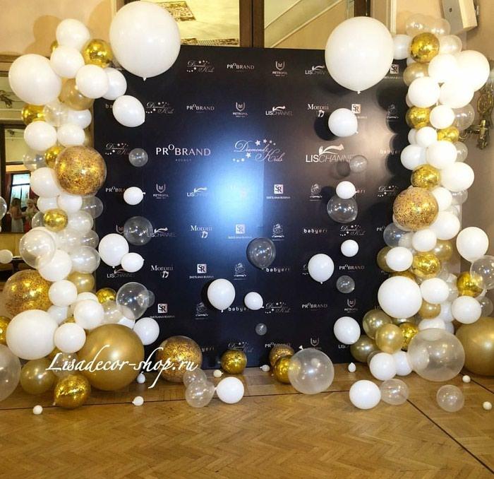 Белоснежные шары на свадьбу!. Photo 4