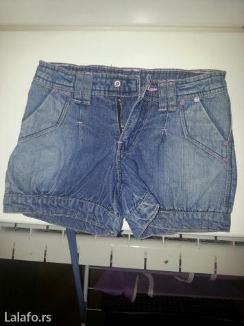Šorc od džinsa za devojčice ovs kids , 110/4-5 u odličnom stanju - Vrsac