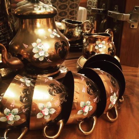 Багема чайный сервиз, черный. Photo 0