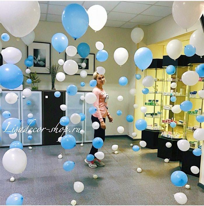 Белоснежные шары на свадьбу!. Photo 3