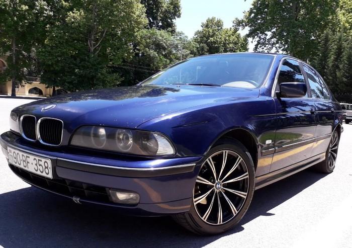 BMW 528 1996. Photo 5