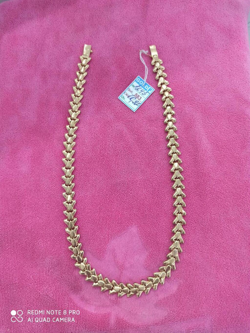 Qızıl boyunbağı Zavod istehsalı qədimi rus qızılı