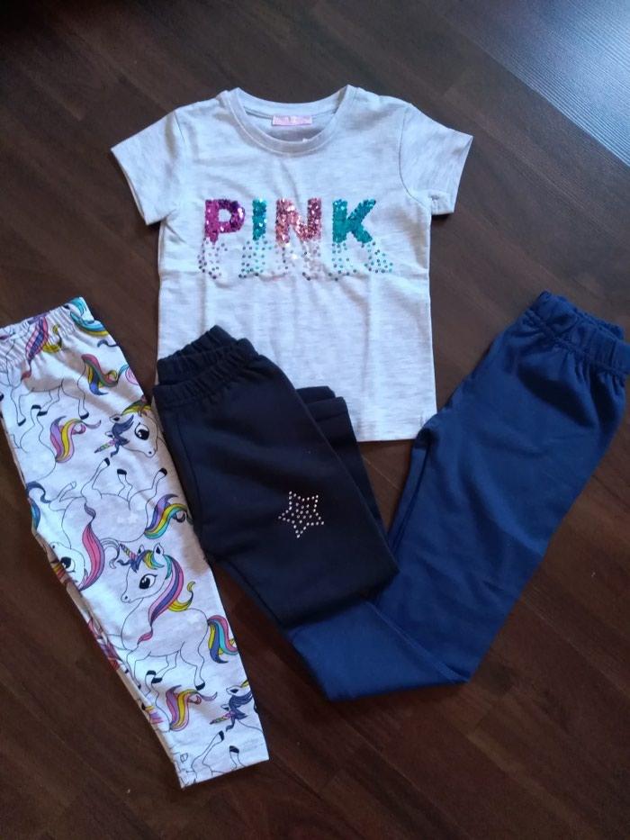 Paket nove garderobe za devojčicu. Veličina 2 - Ruma