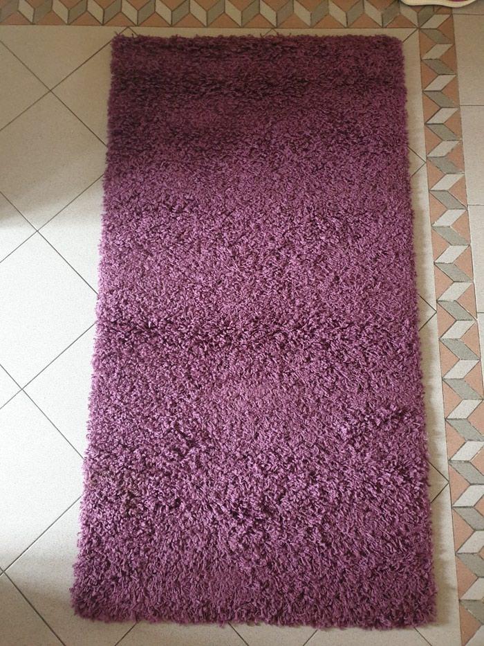 Cupavi tepih,ljubicasti,150x80cm,kao nov.. Photo 0