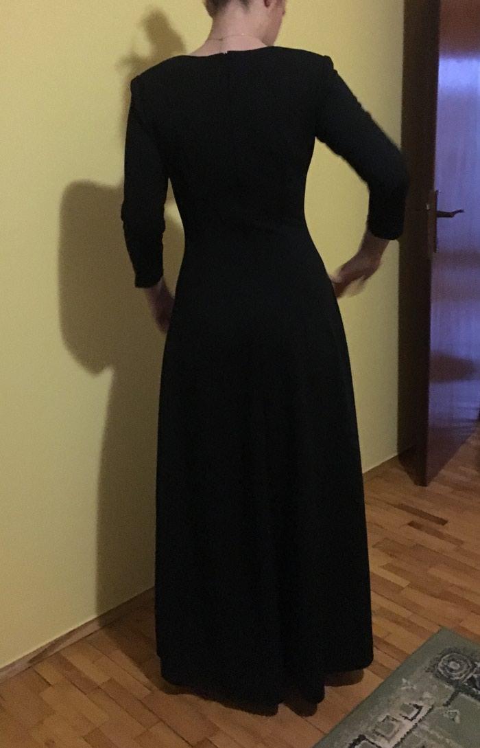 Crna duga haljina, nikad nosena. Photo 2