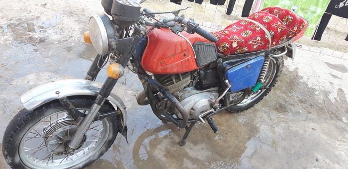 Мотоцикл в Душанбе