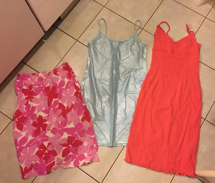 2 Φορεματάκια παραλίας No small Kokai , club med . σε Υπόλοιπο Αττικής