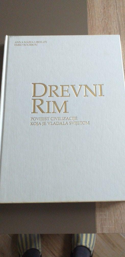 Rim- Istorija. Drevni Rim. 36×26cm.Tvrdo koricena. Nekoristeno.. Photo 0