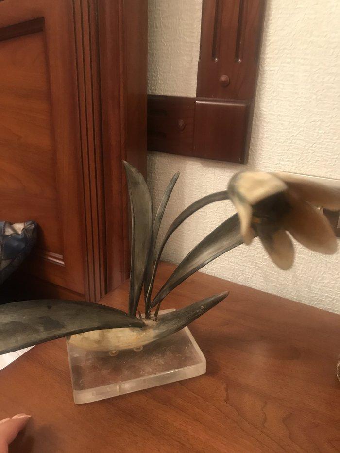 Советская поделочка цветок на в Лебединовка