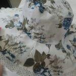Φλοράλ καπέλο καλοκαιρινό.  Για βόλτες κ παραλία. 😃👒💐 Διάμετρος 42 cm σε Κρανίδι
