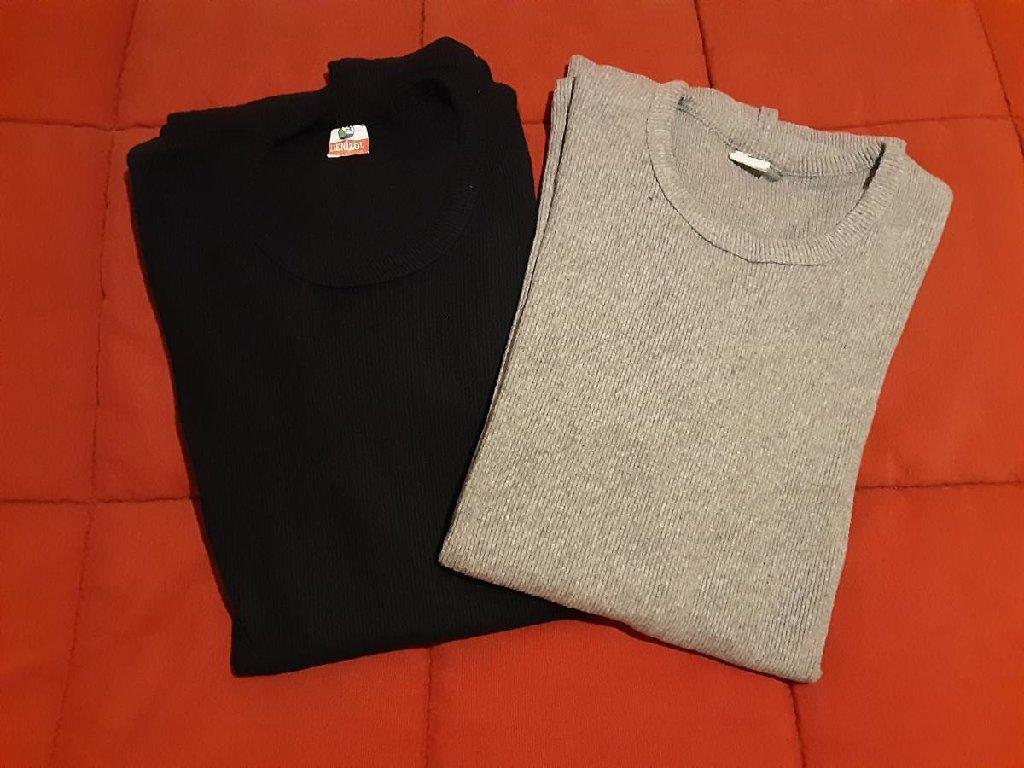 Μπλούζες, γκρι και σκούρο μπλε, XXL, ελάχιστα φορεμένες