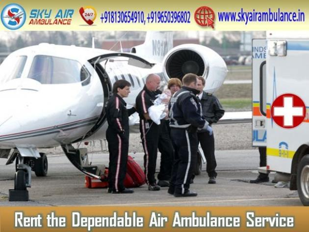 Take Safe Patient Transfer Service by Air Ambulance from Coimbatore