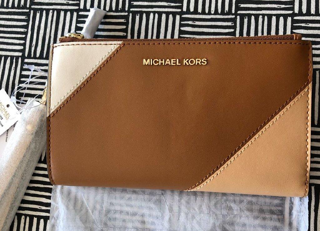 Αυθεντικό πορτοφόλι-wrislet MICHAEL KORS, ολοκαίνουργιο με το καρτελάκι του
