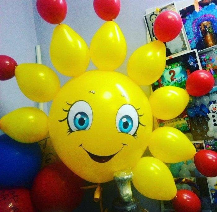 Весёлый клоун из шаров.. Photo 1