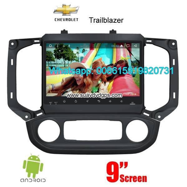 Chevrolet Trailblazer 2017 2018 radio android GPS navigation camera
