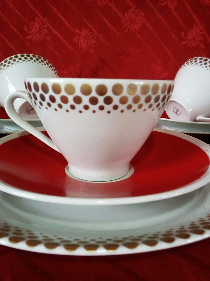 Чайный сервиз, гдр 5 персон. Photo 3