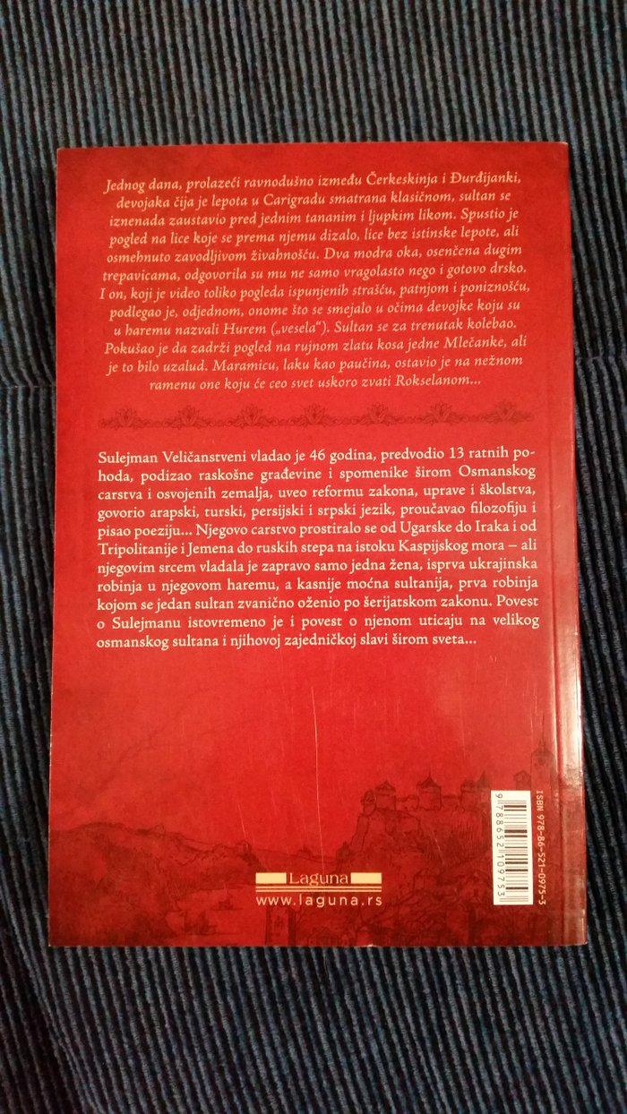 Sulejman i Rokselana Knjiga II NOVO - Indija