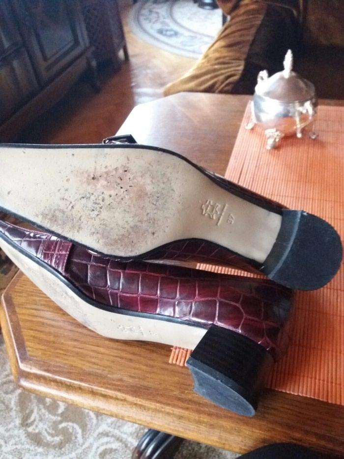 Cipele od extra kože italijanske samo jednom obuvene br.37. Photo 3