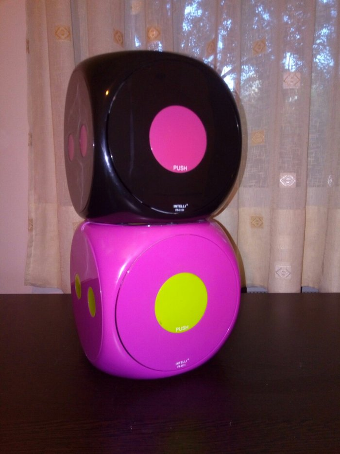 Θήκες για CD σε σχήμα ζαριού. Photo 2