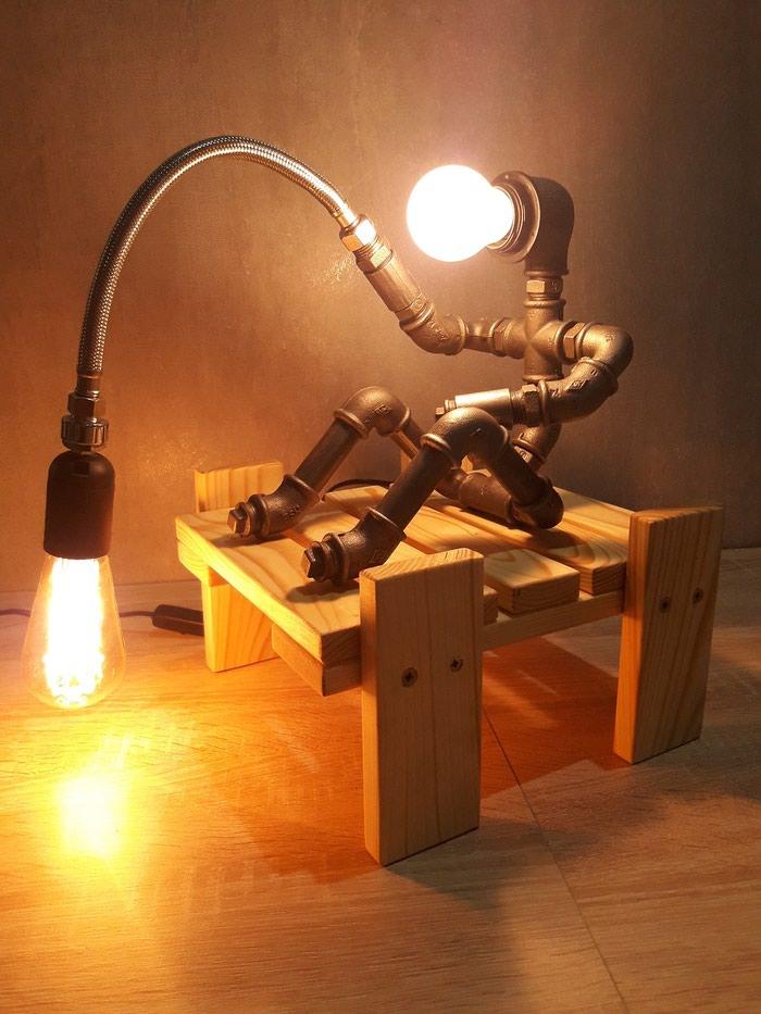 Rasveta - Kraljevo: Stona Lampa - Retro Handmade