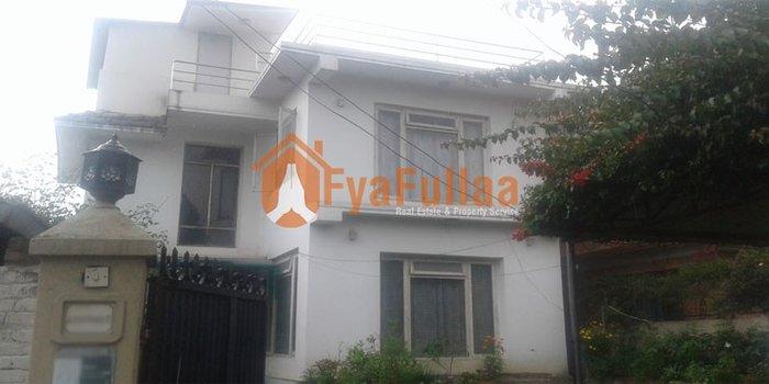A beautiful bungalow house having land area 0-7-0-0 of 2 floors(2200 in Kathmandu