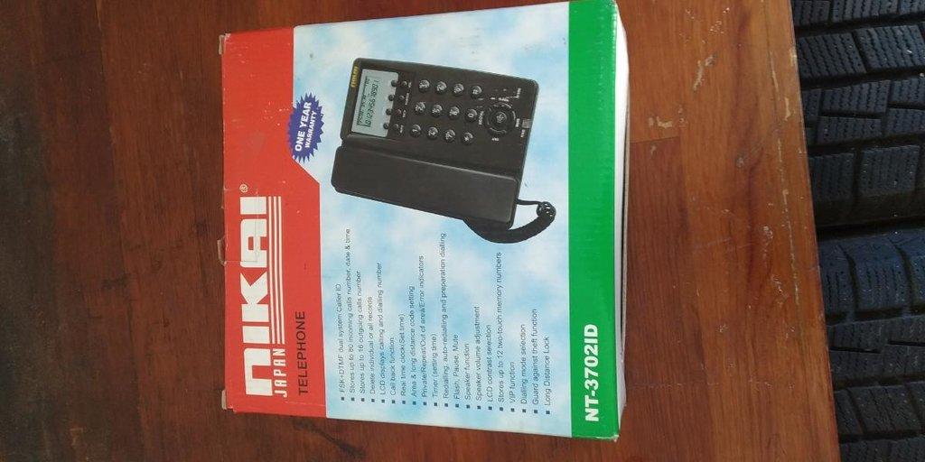 Стационарный телефон nikai  Новый в коробке