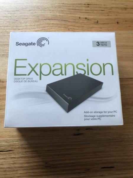 Seagate expansion desktop 3tb srd00f2 ΣΤΟ ΚΟΥΤΙ ΤΟΥ, ΣΕ. Photo 0