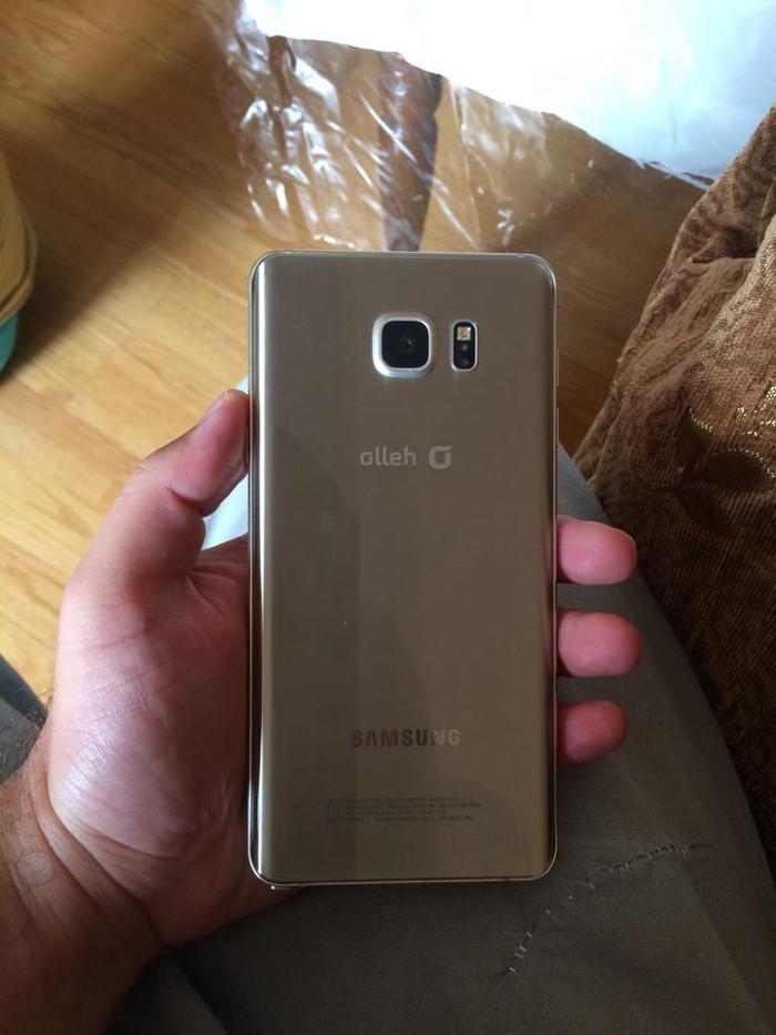 İşlənmiş Samsung Galaxy Note 5 32 GB qızılı. Photo 2