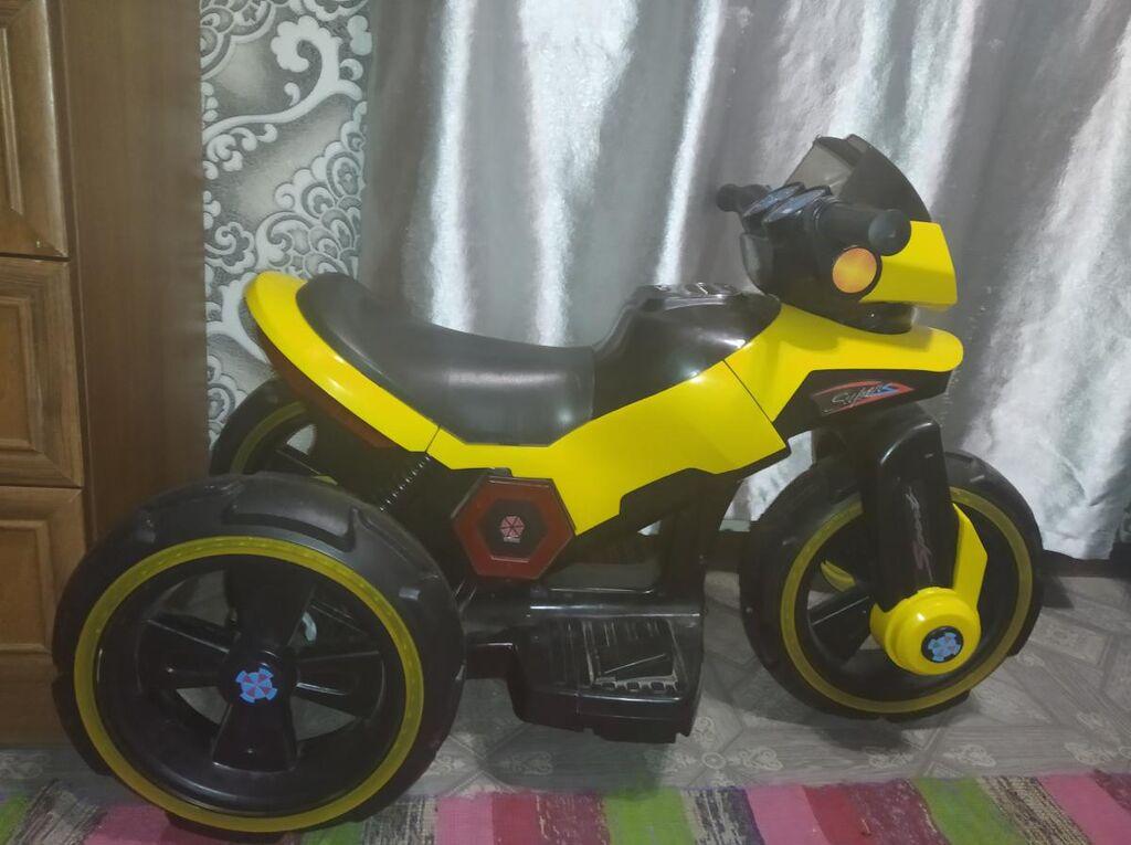 Детский мотоцикл электронный  Договорная