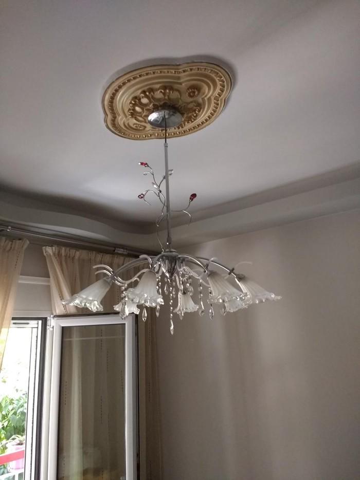 Φωτιστικό οροφής με οκτώ υποδοχείς λαμπτήρων